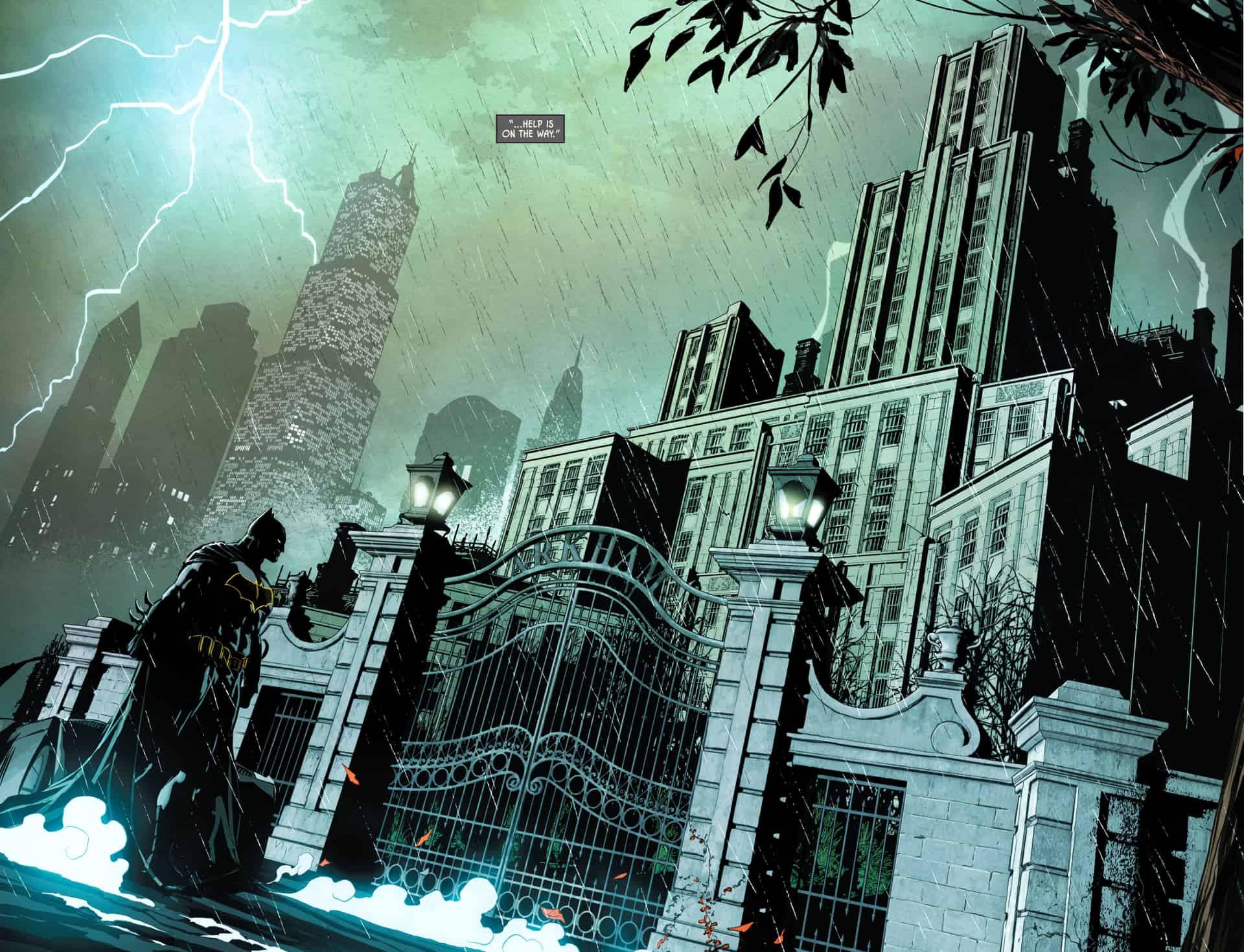 the batman arkham asylum