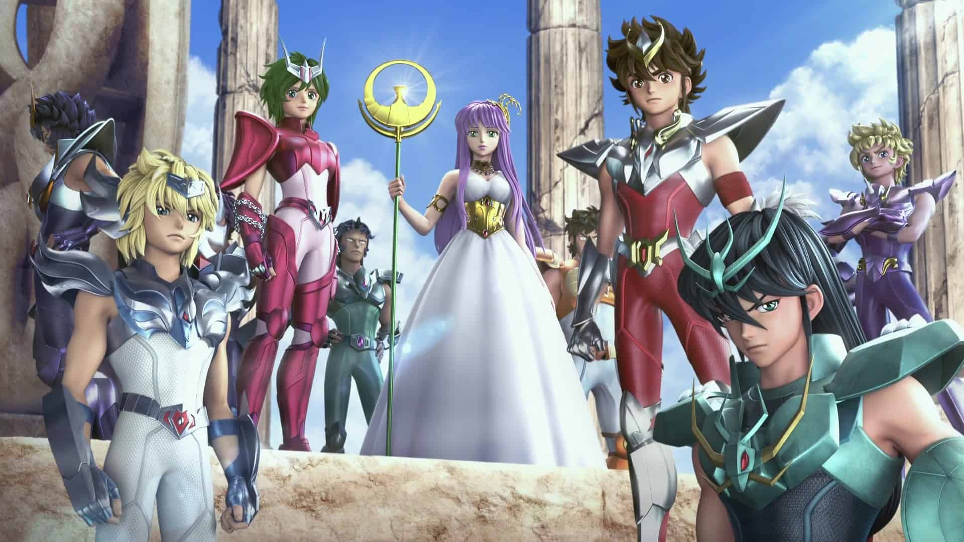 i cavalieri dello zodiaco seconda parte