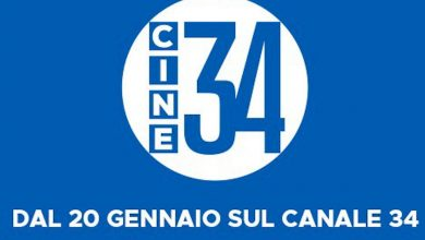 Photo of Cine 34: arriva la nuova rete Mediaset dedicata al cinema italiano