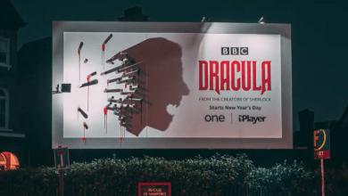 Photo of Dracula: il video del geniale manifesto con il conte che appare dopo il tramonto!