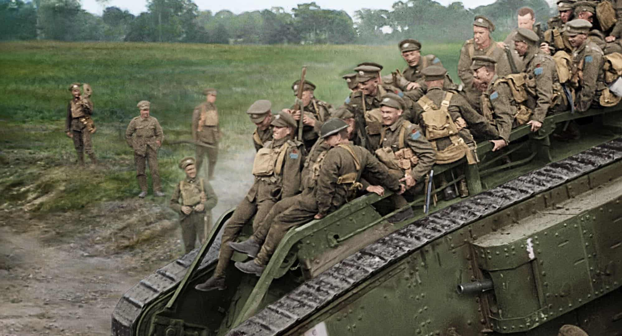 they shall not grow old documentario