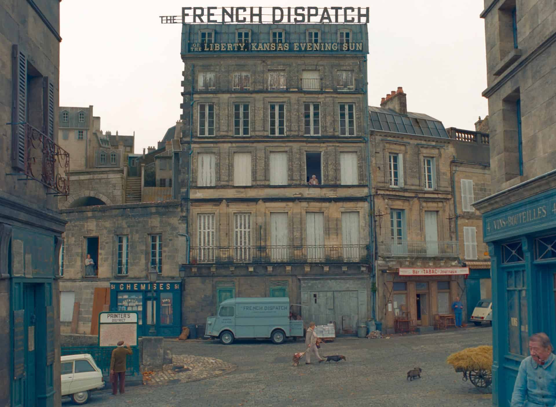 the french dispatch trailer wes anderson