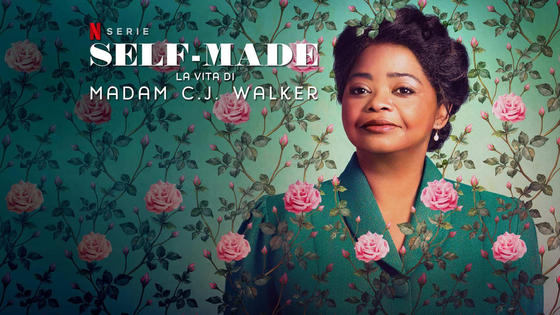 self made la vita di madam c j walker recensione