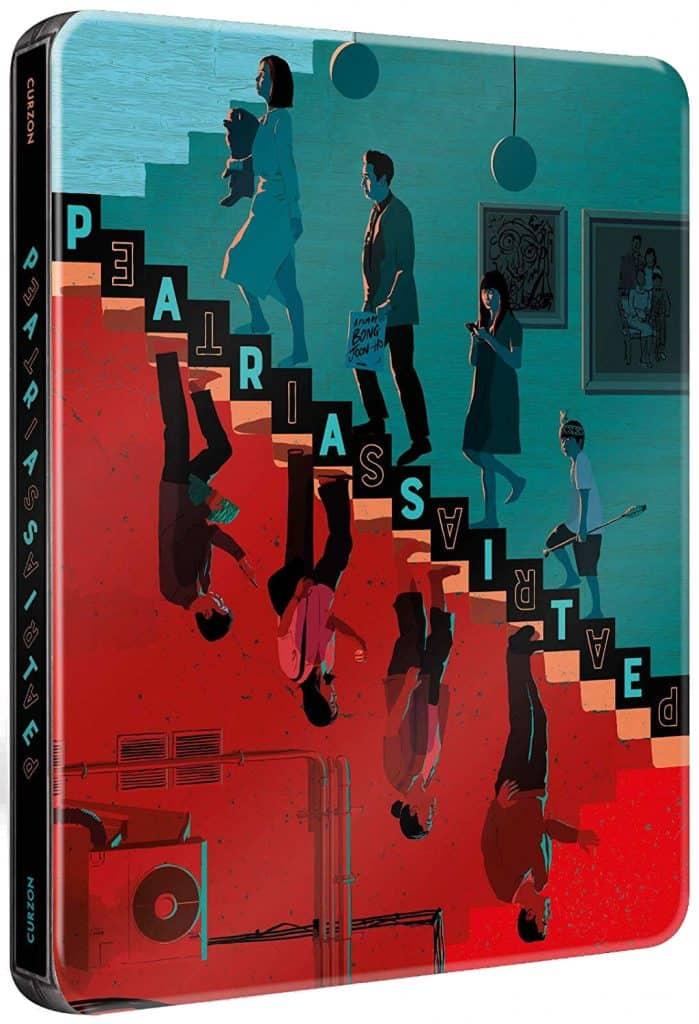 Parasite Steelbook versione combo blu-Ray e dvd