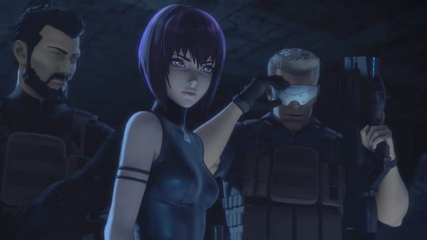 ghost in the shell sac 2045 recensione