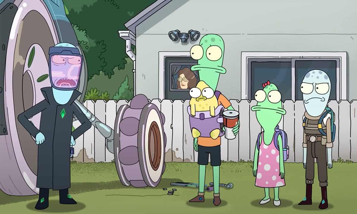 Solar Opposites: tutti i punti in comune con Rick e Morty