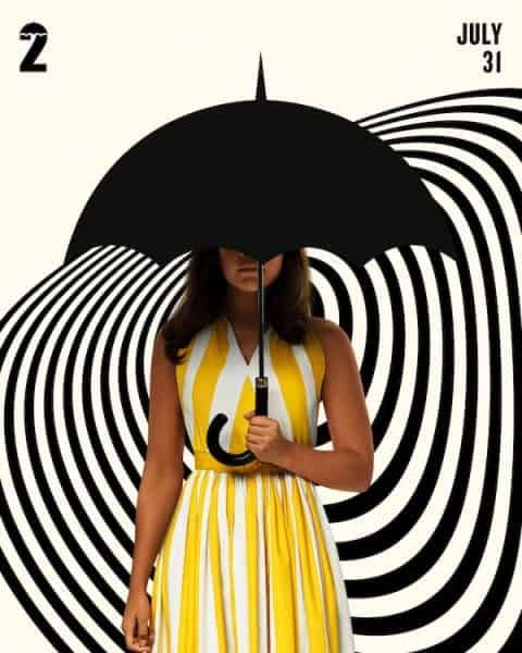 the umbrella academy 2 poster pormozionali