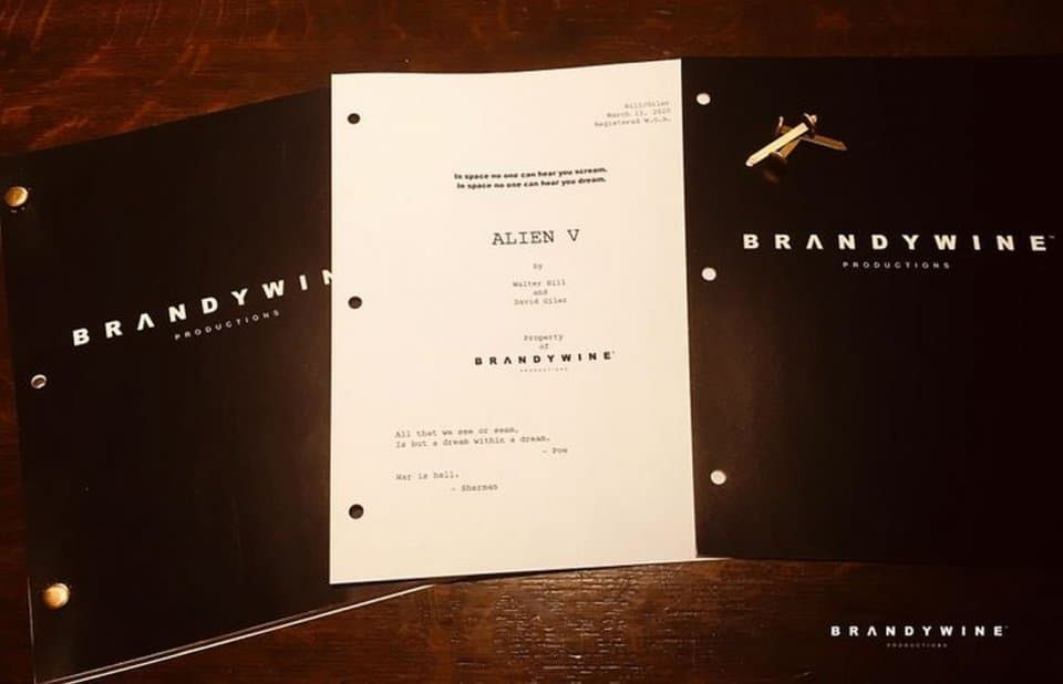 Alien 5 sceneggiatura