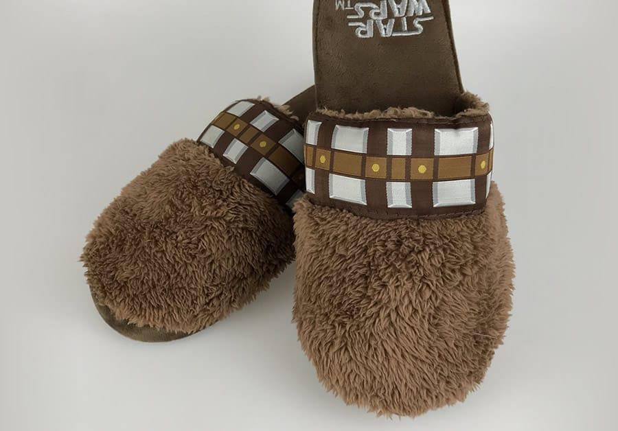 pantofole chewbecca star wars