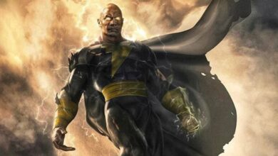 Photo of Black Adam: un primo sguardo al costume di The Rock nel film