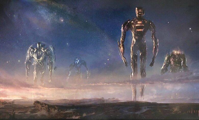 Photo of Gli Eterni: online il nuovo logo del cinecomic Marvel