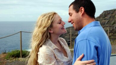 Photo of 50 volte il primo bacio: la video reunion di Adam Sandler e Drew Barrymore