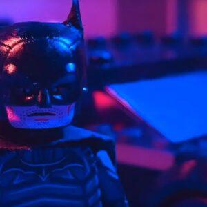 the batman trailer lego