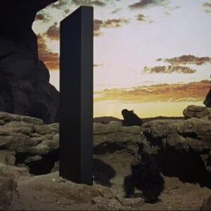 2001 monolite scomparso