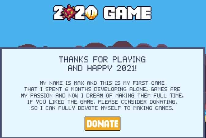 2020 game