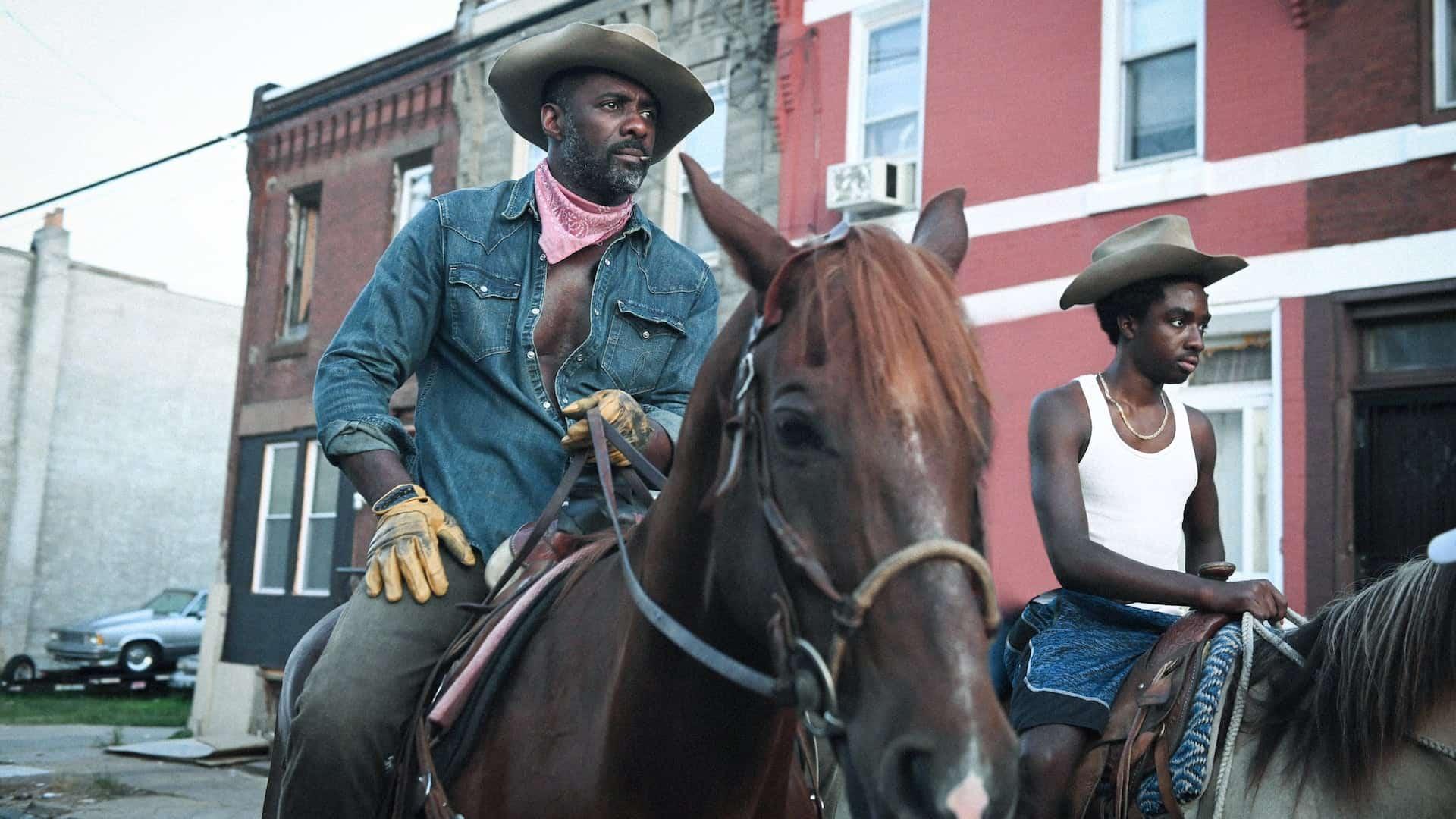 Concrete Cowboy recensione del film con Idris Elba